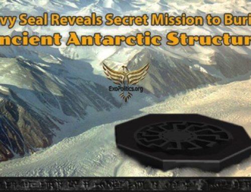 Były żołnierz Navy Seal ujawnia tajną misję do starożytnego obiektu pod lodami Antarktydy
