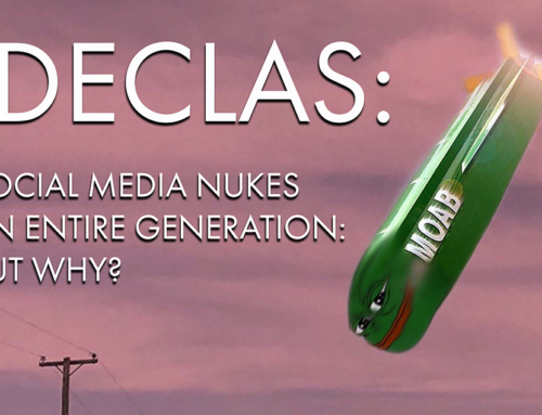 Atak nuklearny na pokolenie milenijne przeprowadzony przez portale społecznościowe … Dlaczego tak jest?Cz. 6