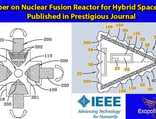 Reaktor syntezy jądrowej dla hybrydowych statków kosmicznych – dokument opublikowany w prestiżowym czasopiśmie