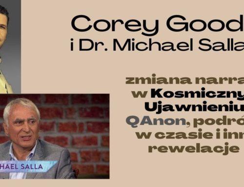 Corey Goode w rozmowie z dr. Michaelem Salla – sytuacja Kosmicznego Ujawnienia i inne rewelacje [SAMOŚWIADOMI w Kosmosie]