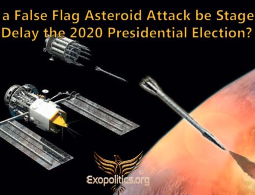 Plany ataku fałszywą asteroidą – film